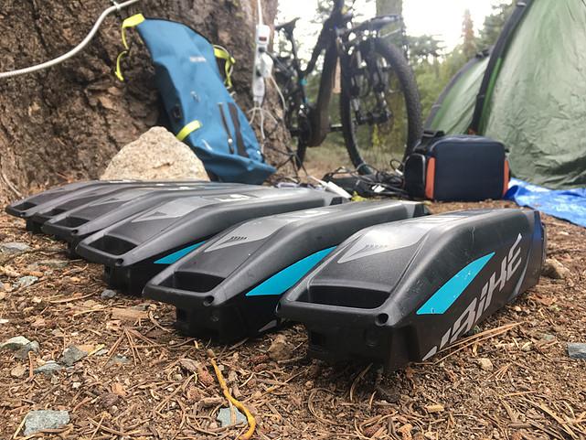 baterias de haibike