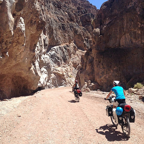 Death Valley. Sand to Snow. Haibike.