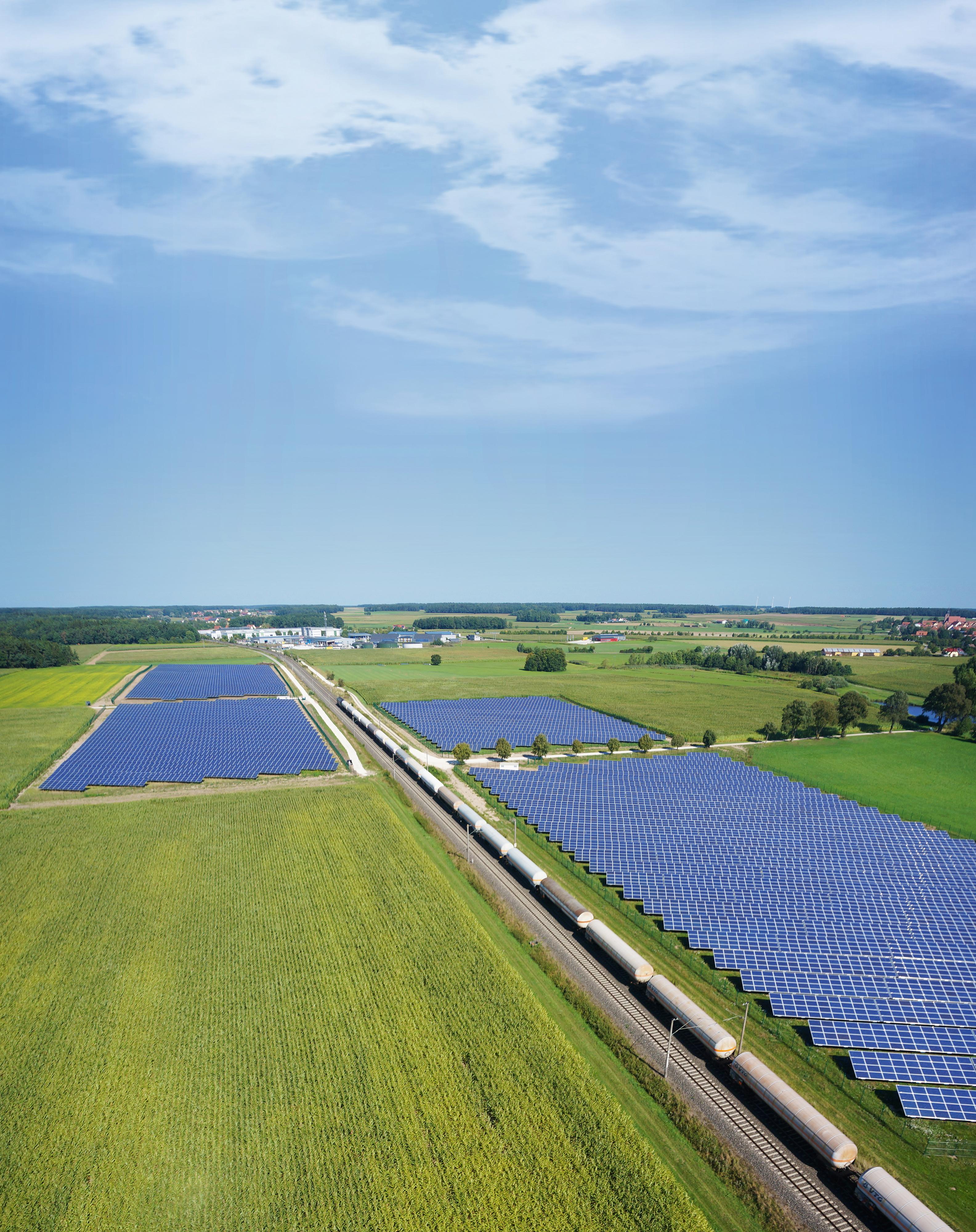 parque solar construido por Naturstrom